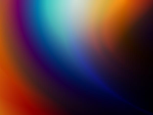 Arco-íris multicolorido com fundo gradiente foto premium