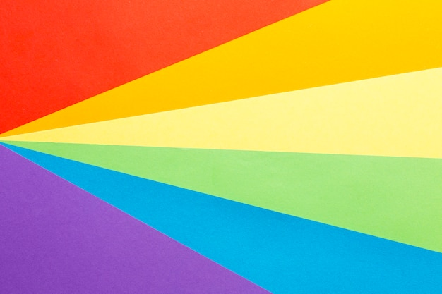 Arco-íris orgulho bandeira cópia espaço plano de fundo