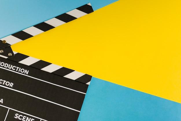 Ardósia de filme com espaço de cópia