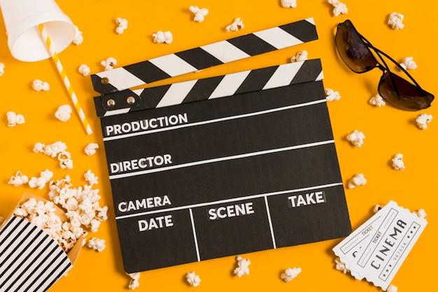 Ardósia de filmes para filmes de cinema