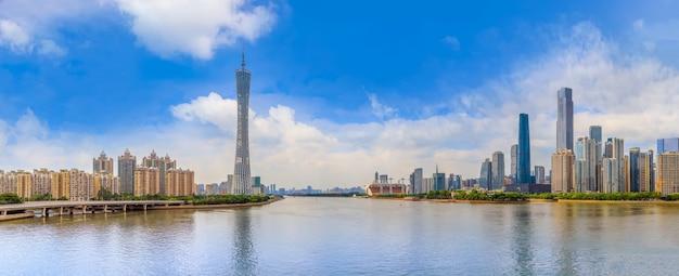 Área de construção paisagem moderna famosa