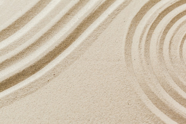 Areia de spa resort de bem-estar