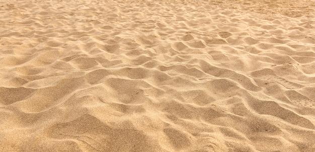 Areia na praia como pano de fundo