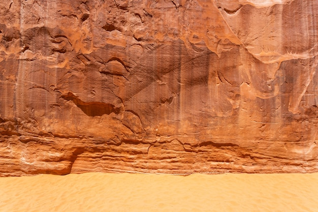 Areias com fundo de textura de montanha de pedra