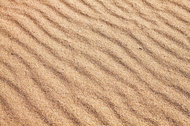 Areias na praia