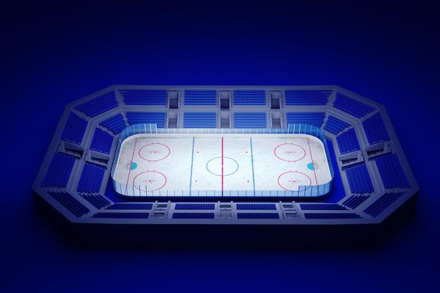 Arena de hóquei no gelo