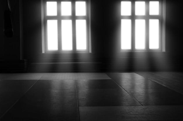 Arena esportiva para boxe, muay thai, mma e crossfit. mídia mista