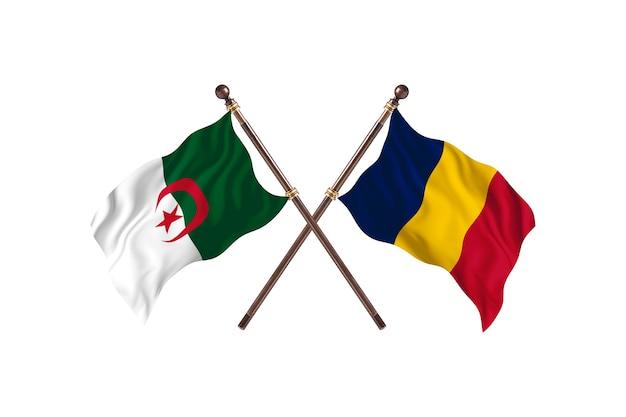 Argélia contra chade two flags