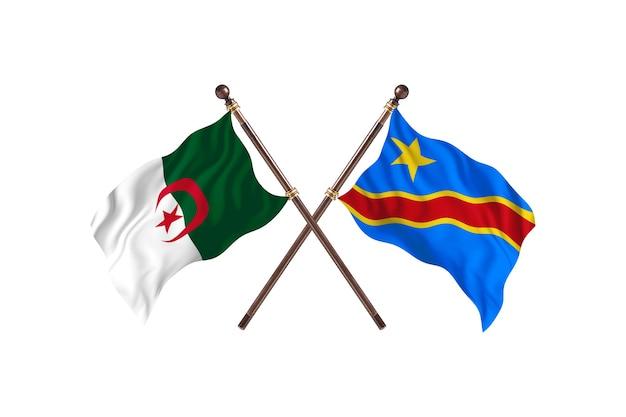 Argélia versus república democrática do congo two flags