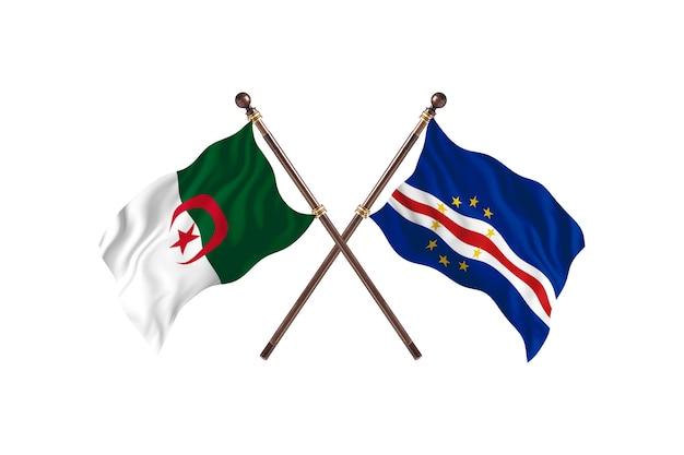 Argélia x cabo verde duas bandeiras