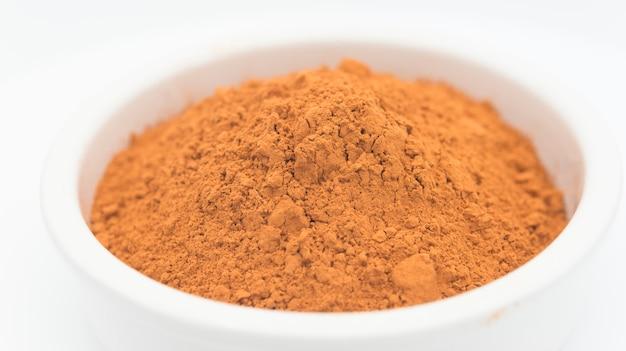 Argila vermelha cosmética ecológica