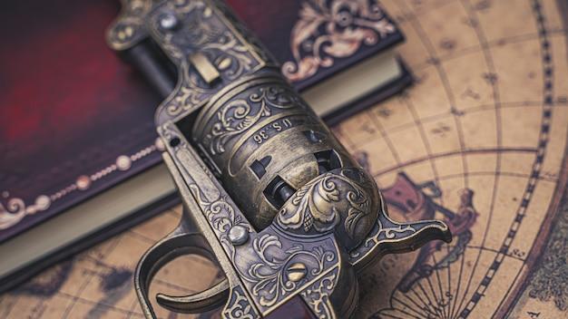 Arma de arma de fogo antiga