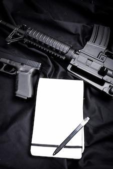 Arma moderna, preta