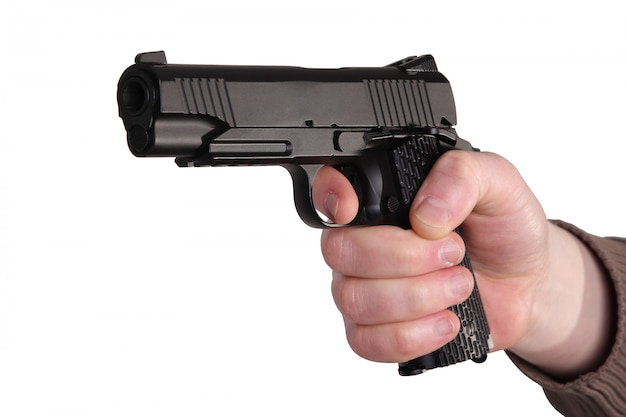Arma na mão