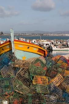 Armadilhas de pesca em culatra