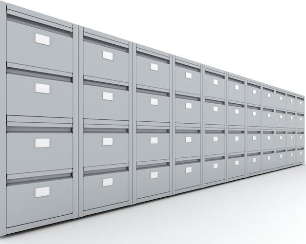 Armário de arquivo