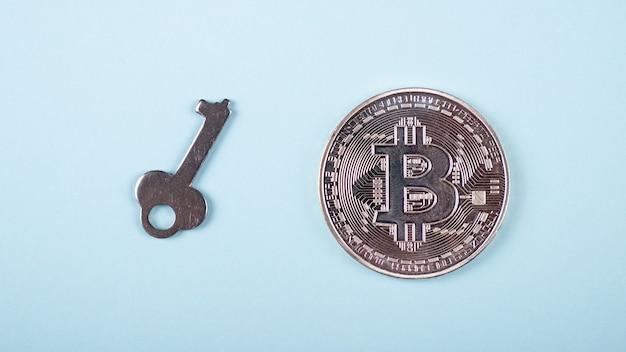 Armazenamento de chave bitcoin, o conceito de segurança de uma carteira de criptomoeda