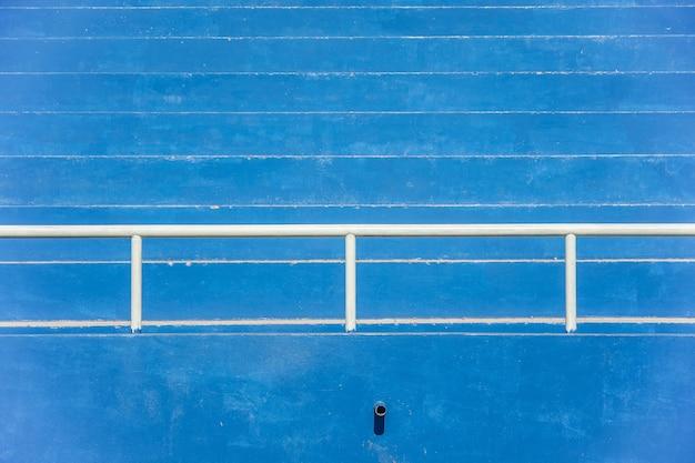 Arquibancadas do estádio - azul