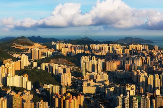 Arquitectura da cidade de hong kong