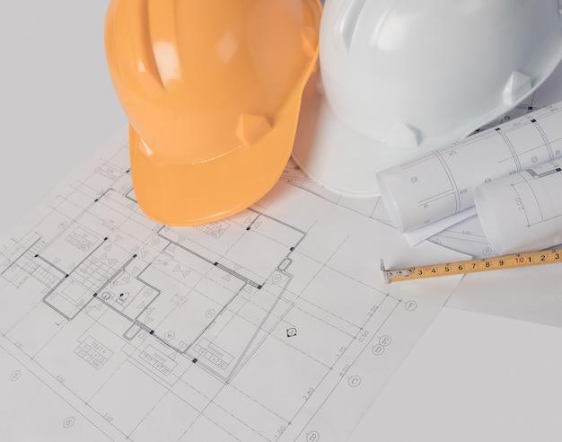 Arquiteto, conceito de engenheiro, representa o estilo de trabalho dos arquitetos
