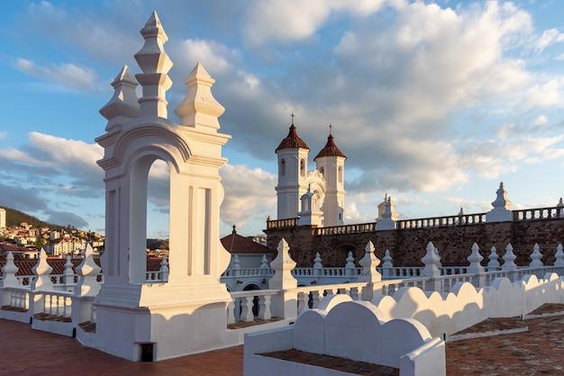 Arquitetura colonial em sucre, bolívia