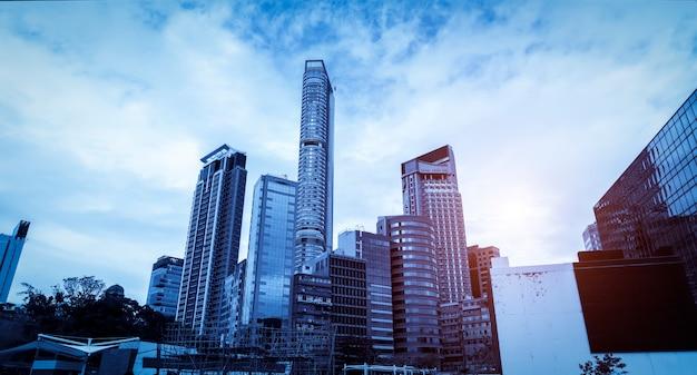 Arquitetura da cidade de hong kong
