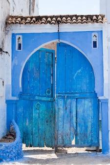 Arquitetura da porta de chefchaouen