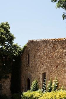 Arquitetura de construção de pedra antiga
