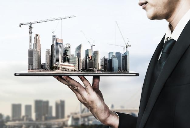 Arquitetura inovadora e plano de engenharia civil