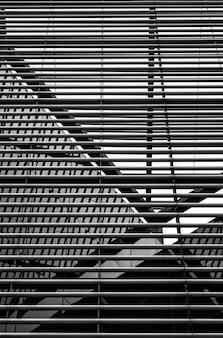 Arquitetura moderna de estrutura metálica