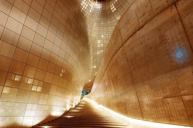 Arquitetura moderna do dongdaemun design plaza