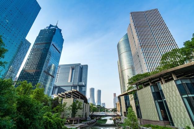 Arquitetura moderna em hangzhou