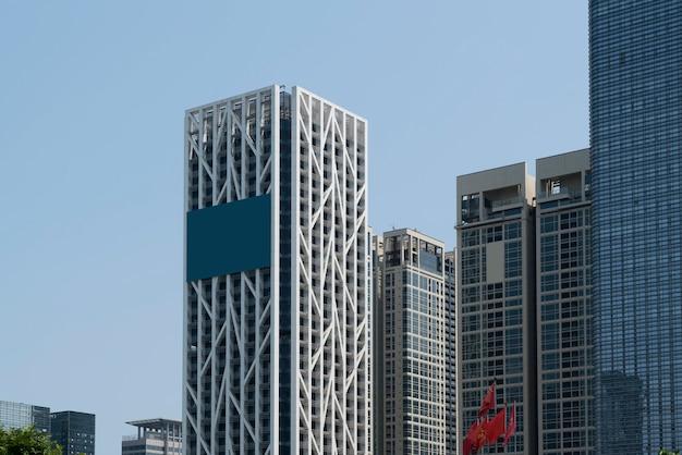Arquitetura moderna urbana