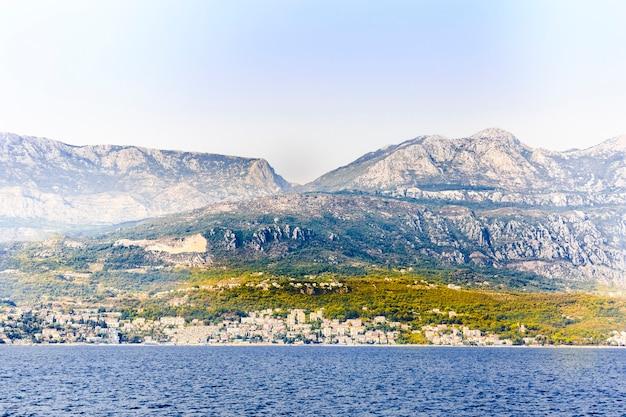Arquitetura montanhosa montenegro