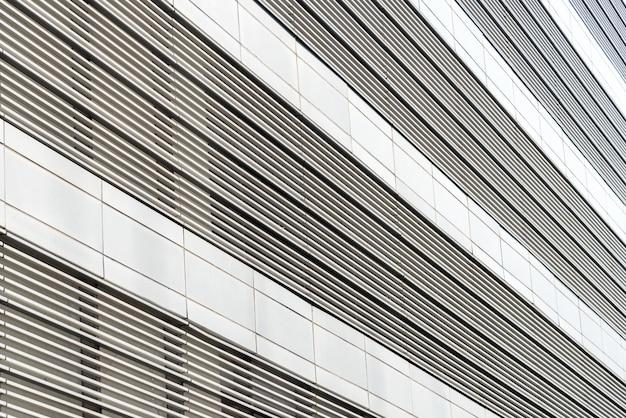 Arquitetura perto, janelas do arranha-céu.