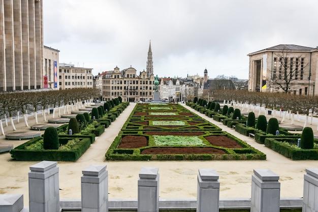 Arquitetura turística e pontos de referência de bruxelas