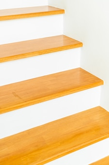 Arquitetura vazia da escada