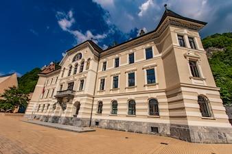 Arquivos nacionais do Liechtenstein em Vaduz