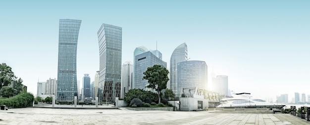 Arranha-céu do centro financeiro de shanghai lujiazui