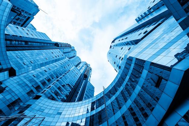 Arranha-céu do centro financeiro