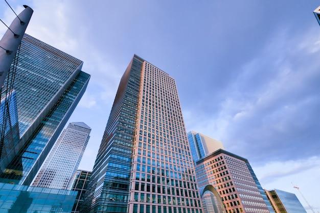 Arranha-céu do edifício de escritórios de londres