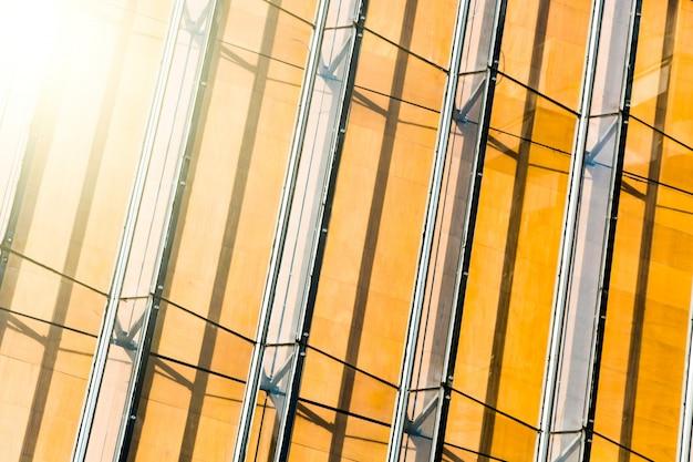 Arranha-céus escritório forma negócio urbano