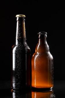 Arranjo com gostosa cerveja americana