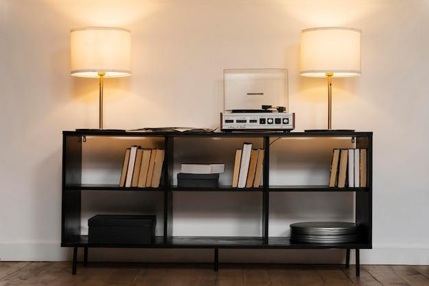 Arranjo de design de interiores para casa