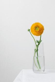 Arranjo de flores em vaso de natureza morta