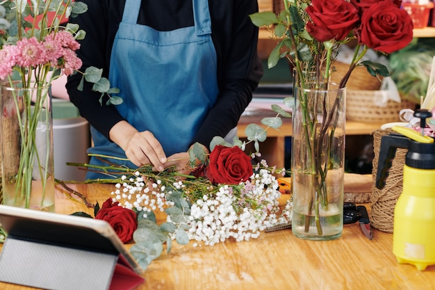 Arranjo de florista buquê