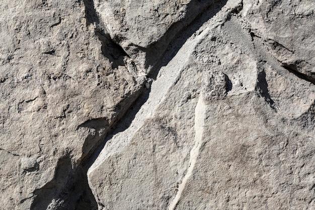 Arranjo de formas de pedras