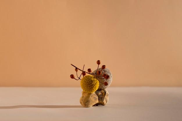 Arranjo de natureza morta de outono
