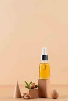 Arranjo de óleo de argan saudável