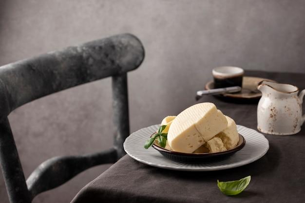Arranjo de queijo paneer tradicional